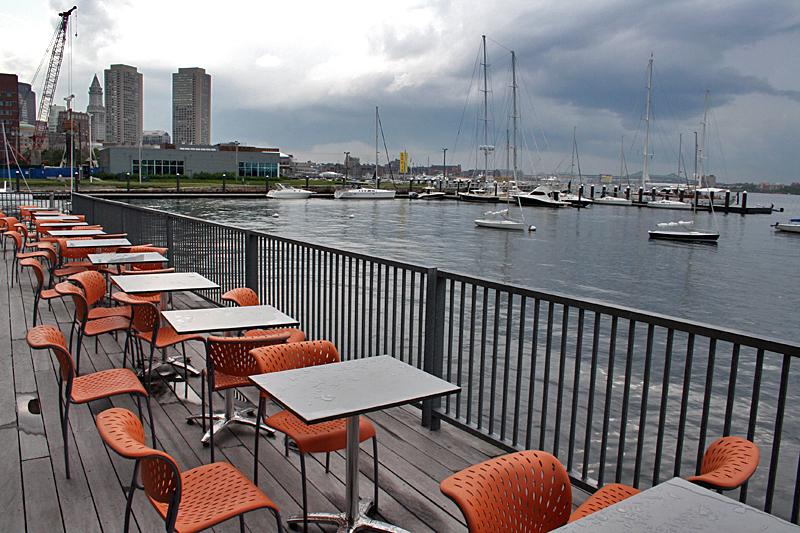 Fan Pier Boston - A View from Boston's Institute of Contemporary Art